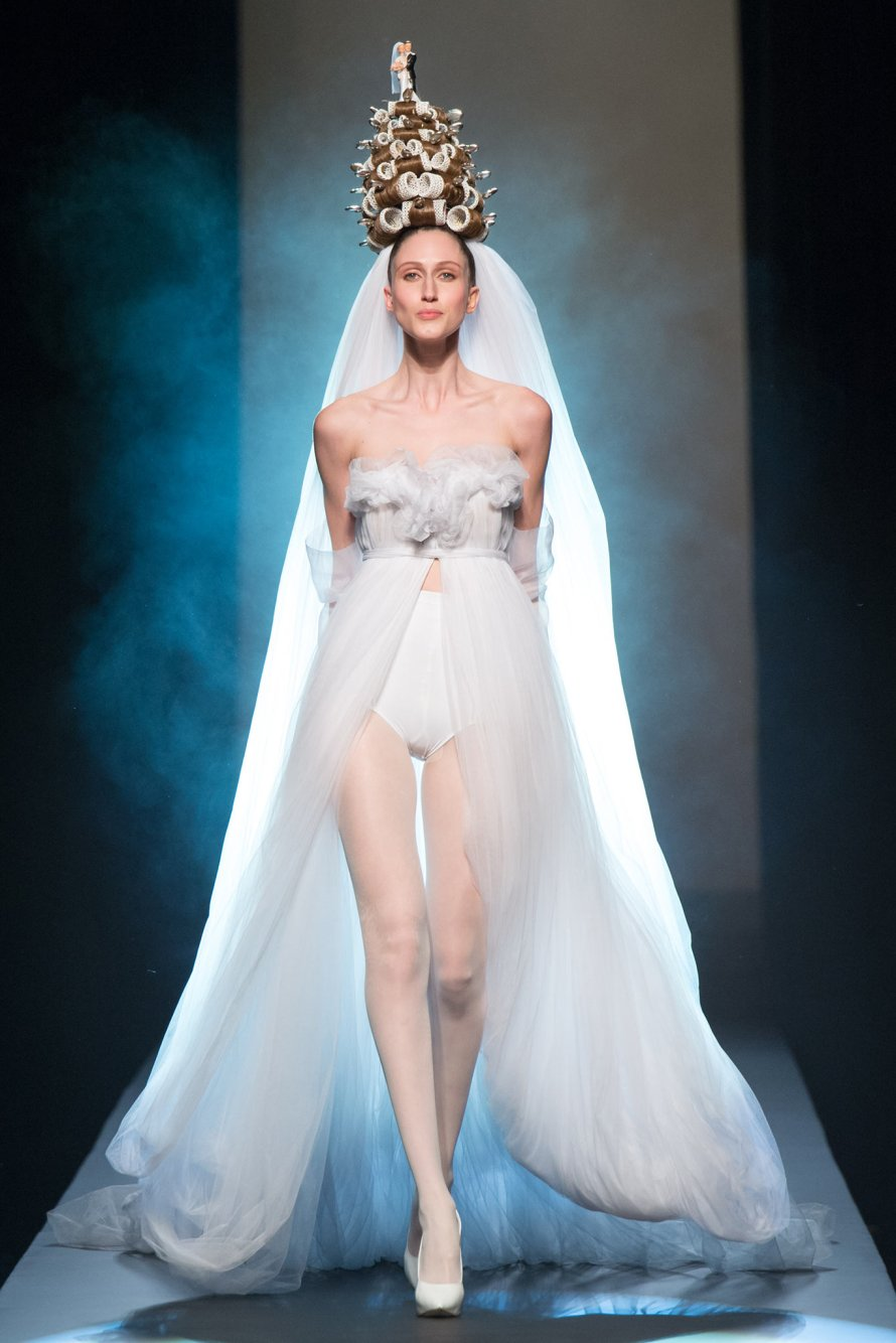 Jean Paul Gaultier Spring 2015 Couture Runway – SILHOUETTEANDSTYLE