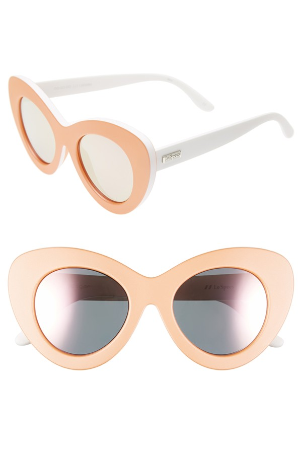 Nordstrom| Le Specs 'Go Go Go' 47mm Oversize Cat Eye Sunglasses