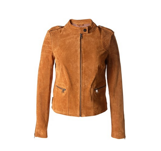 Real Suede Moto