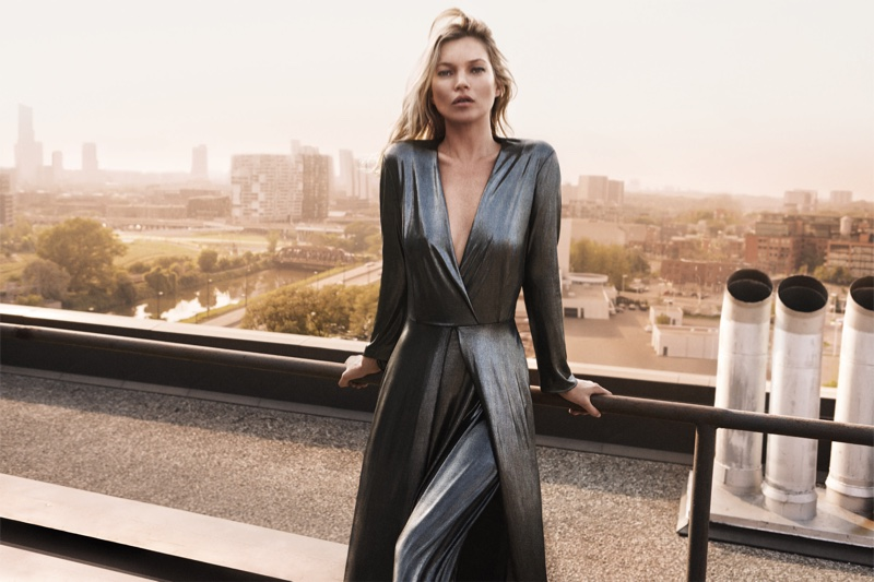Cara-Delevingne-Kate-Moss-Mango-Evening-2015-Collection06