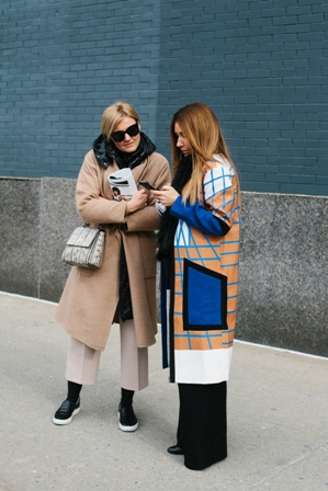 New York Fashion Week street style