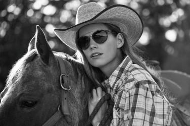 Nicole Schrock for Giorgio Armani Frames of Life 2016 Campaign.