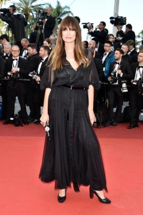 "Caroline De Maigret in Chanel at the ""Cafe Society"" premiere"