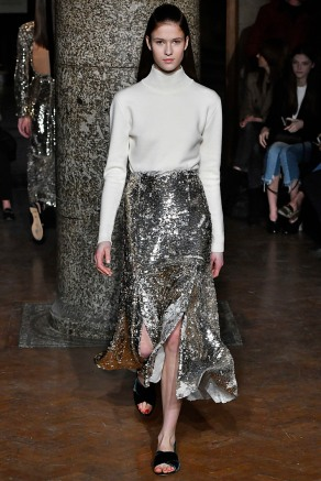 Emilia Wickstead London Womenswear Fall Winter 2017 London February 2017
