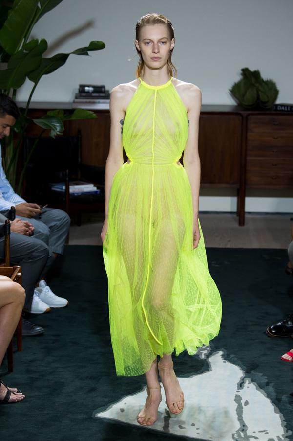 Pixelformula womenswear  ready to wear prêt a porter summer 2017 Jason Wu