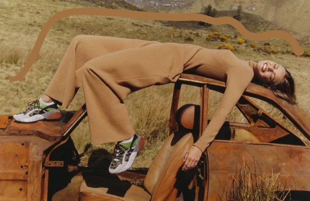 Stella McCartney shot her fall campaign in a Scottish landfill.