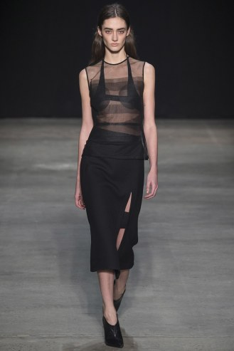 Narciso Rodriguez Fall 2017