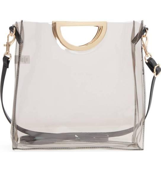 Mini Translucent Metal Handle Bag BP.
