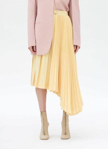 Celine Pleated Skirt Vanilla
