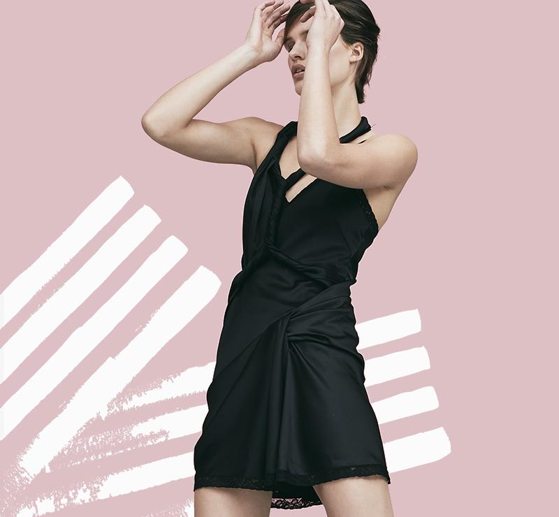 Alexander-Wang-Deconstructed-Twist-Dress