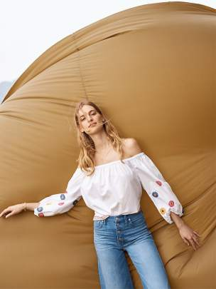 Madewell-Embroidered-Off-The-Shoulder-Top