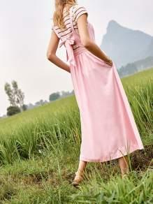 Madewell-Pink-Fleur-Bow-Back-Dress