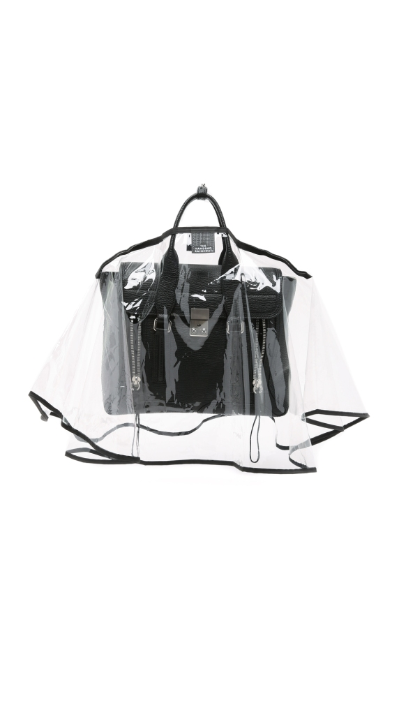 he Handbag Raincoat