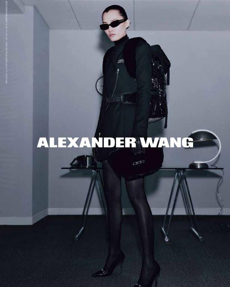 alexander wang fall winter 2018 campaign � silhouetteandstyle