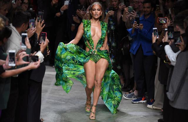 Versace - Runway - Milan Fashion Week S/S 2020, Italy - 20 Sep 2019